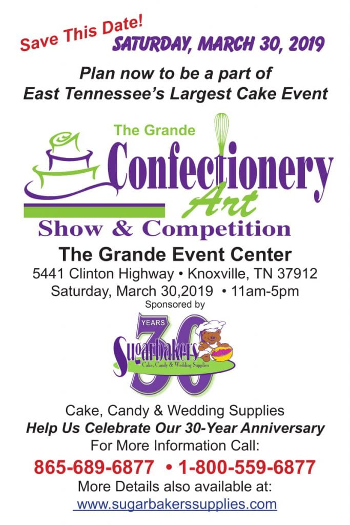 The Grande Confectionery Art Show & Competition | Knoxville