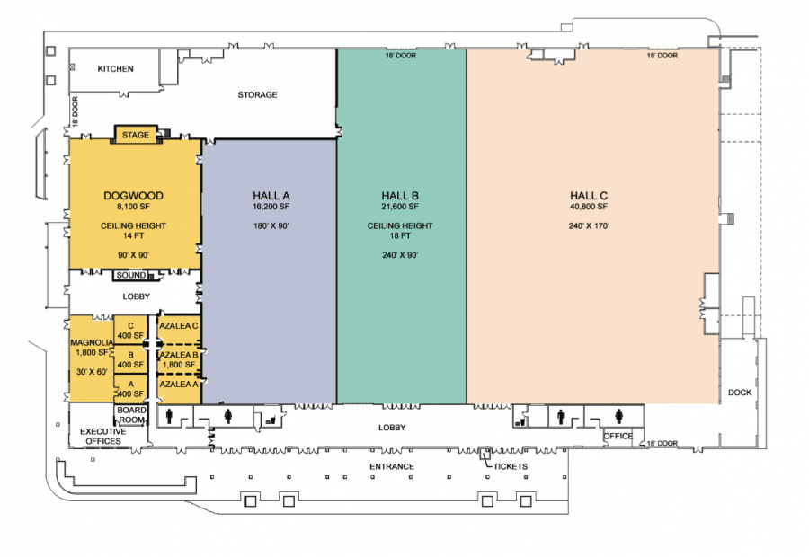 Floor Plans | Knoxville Expo Center