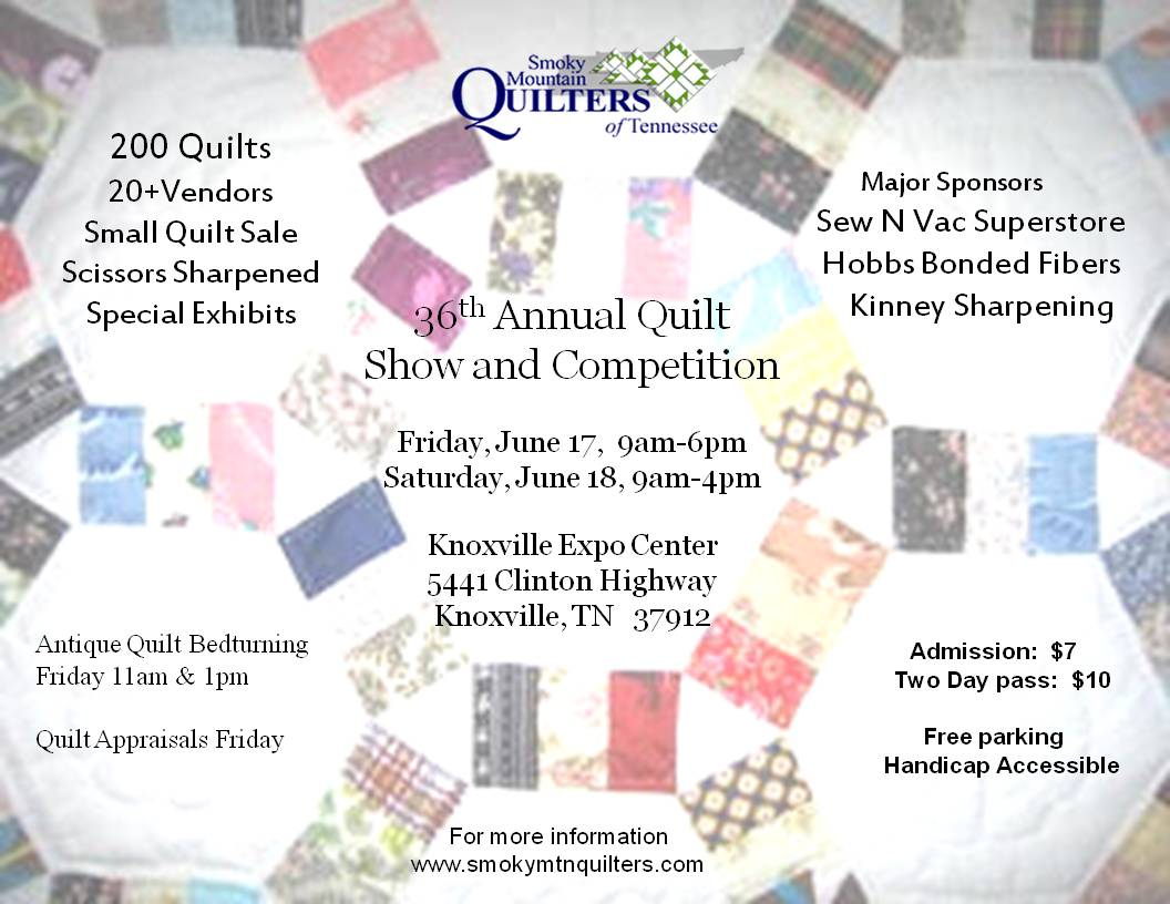 Smoky Mountain Quilt Show | Knoxville Expo Center : smoky mountain quilt show - Adamdwight.com